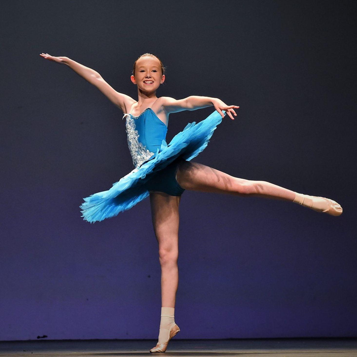 Competition team dancer